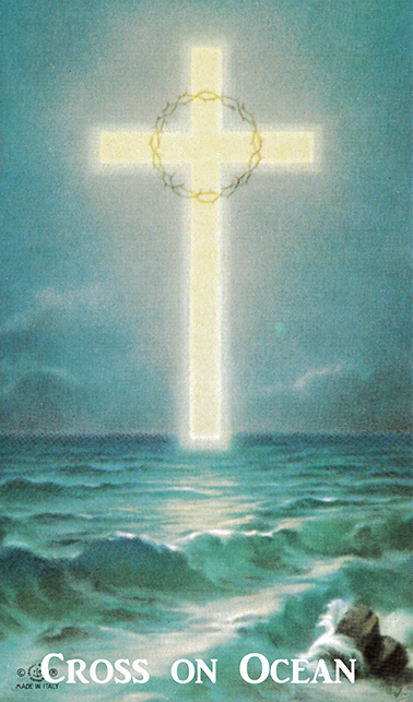Cross on the Ocean